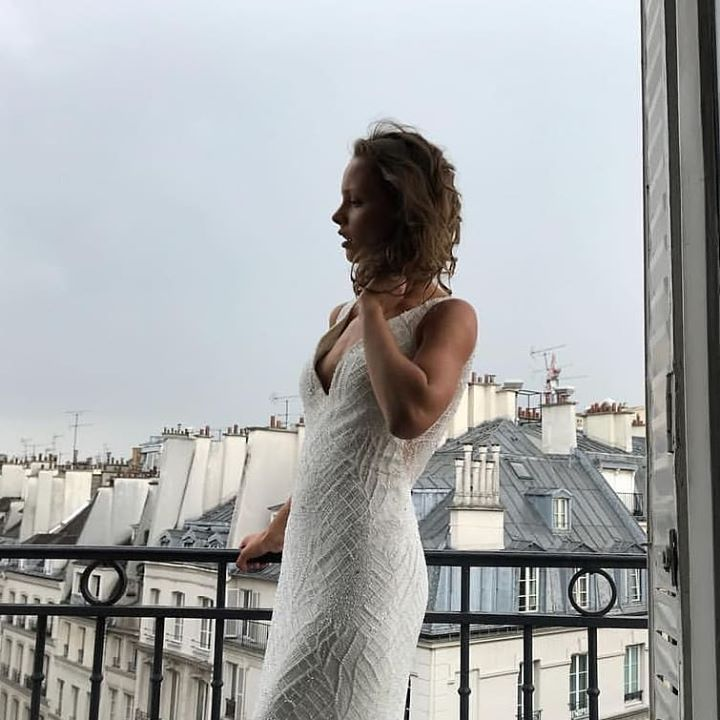 ab959bc5 Shimmer and sparkle like the city of love in ... - Bluebell Bridal ...