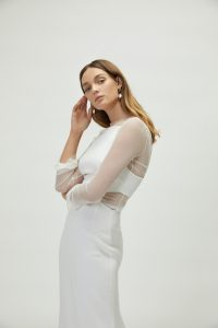 Cora Gown with Mia Mesh Top (6)