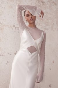 Malene Gown witH Mia Mesh Top (5)
